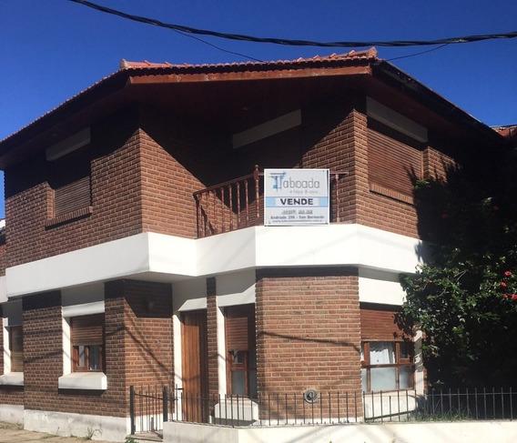 Alquiler Chatet Para 8 Personas Cochera San Bernardo A014