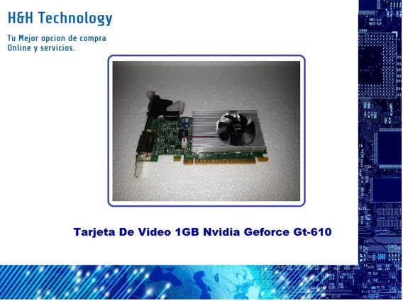 Tarjeta De Video 1gb Nvidia Geforce Gt-610