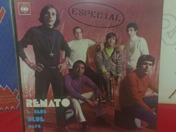 Lp Renato E Seus Blue Caps Especial 1968