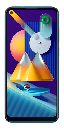 Samsung Galaxy M11 Dual SIM 32 GB Azul metálico 3 GB RAM