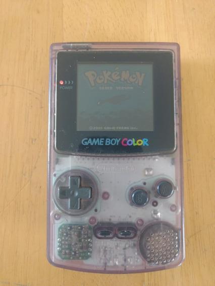 Game Boy Color - Funcionando 100% + 3 Jogos (pokemon Silver)