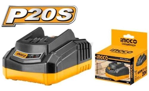Cargador Batería 20v 2a/ 50w Ingco