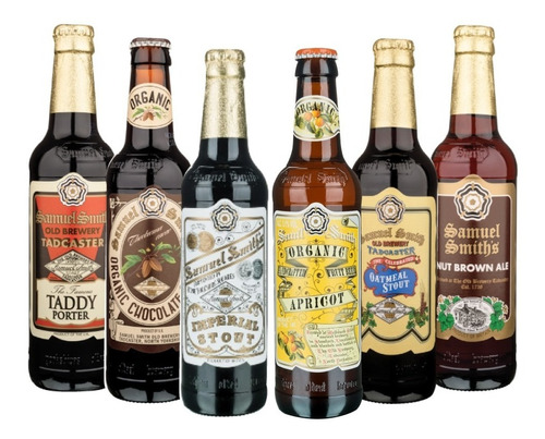Six Pack De Cervezas Inglesas Samuel Smith De 355 Ml.