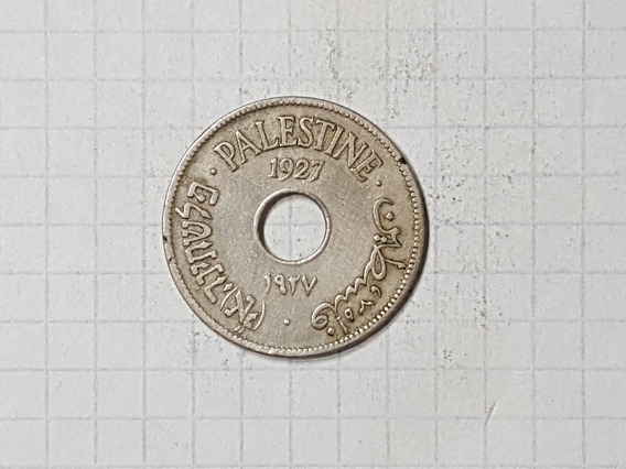 Israel Palestina 10 Mils 1927
