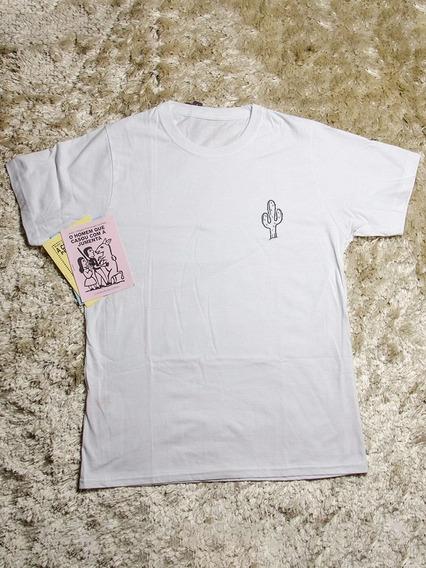 Camisetas Personalizadas Masculina Cacto - 100% Algodão