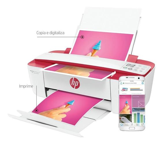 Impressora Multifuncional Xerox Wifi Usb Deskjet 3786 Hp
