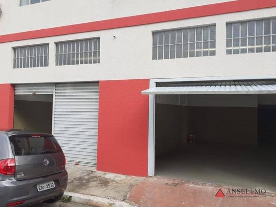 Galpão Para Alugar, 145 M² Por R$ 3.500/mês - Vila Nogueira - Diadema/sp - Ga0368