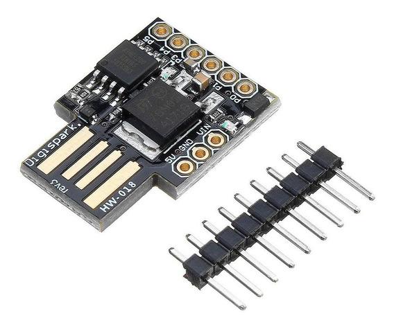 Digispark Attiny85 Usb Dev Menor Placa Compatível Arduino Nf