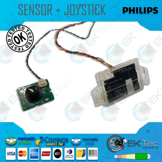Sensor + Joystick Tv Philips 43pfg5102/78 Original Testado