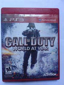 Jogo Call Of Duty World At War Ps3 Fisica R$35