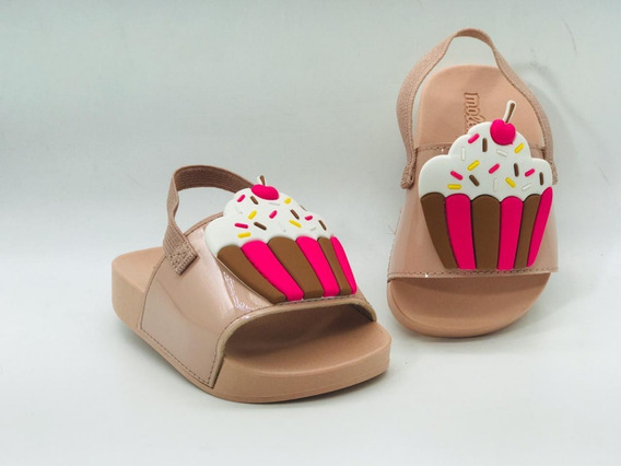 Chinelo Infantil Feminino Molekinha Baby Cupcake 2125119