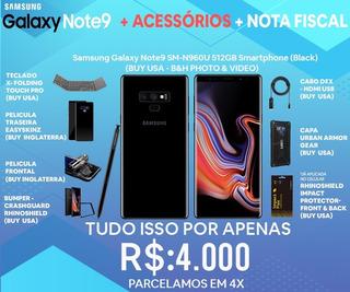 Celular Samsung Note 9 - 512 Gb - Black - Modelo Usa