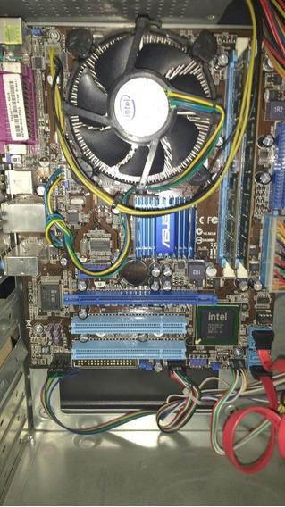 Cpu Core 2 Quad Placa Asus Psg41t-m - 4gb Ram Hd320 (3537)