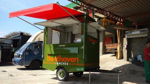 Food Truck Trailer Gl 2x1.6m Marca Bumerangue Sob Encomenda