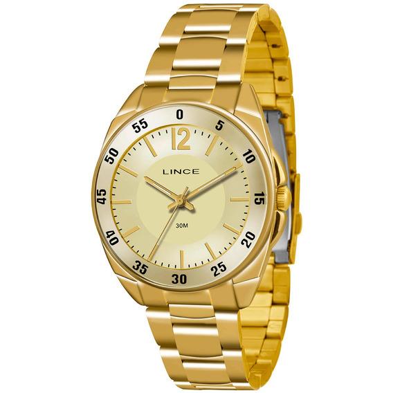 Relógio Lince Feminino Lrgk043l Kt12c2kx