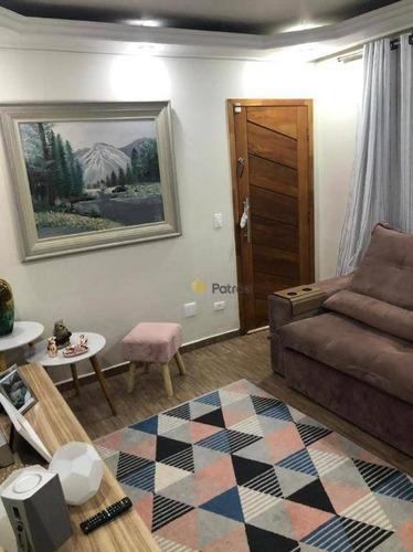 Casa Com 3 Dormitórios À Venda, 130 M² Por R$ 640.000,00 - Paulicéia - São Bernardo Do Campo/sp - Ca0599