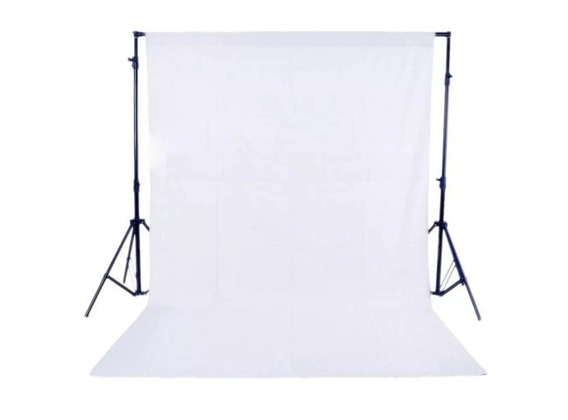 Fundo Branco Infinito 100 X 160cm Estúdio Fotográfico Tnt