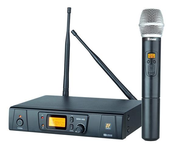 Sistema Microfone S/fio Uhf Srw-48s - Staner