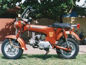 Moto Antiga Ano 1973 Honda 70 Zerinha