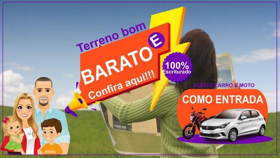 06c- Vendo Chacara 1.000 M2 Perto Do Asfalto