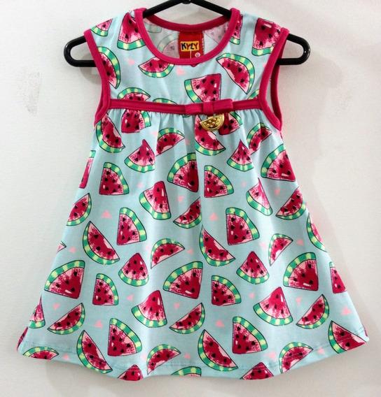 Vestido Bebê Kyly Tamanho P, M E G