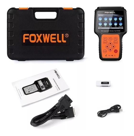 Melhor Scanner Automotivo Foxwell Nt650 Em Portugues Brasil