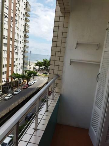 Kitnet Com 1 Dormitório Para Alugar, 41 M² Por R$ 1.600/mês - Embaré - Santos/sp - Kn0544