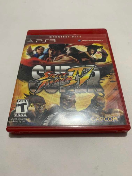 Super Street Fighter Iv 4 Playstation 3 Jogo Original Ps3