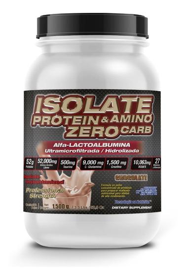 F&nt Isolate Protein & Amino Zero Carb 1,500 Gr