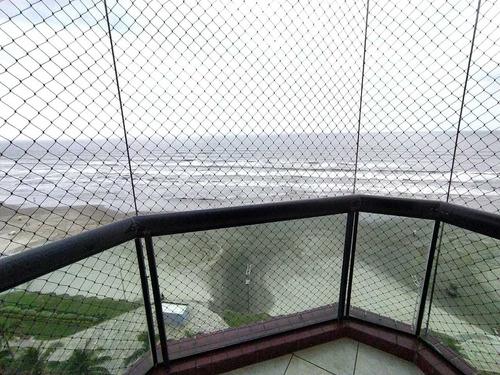 Imagem 1 de 12 de Apartamento 3 Dormitórios  Frente Mar - Vila Caiçara Ams159