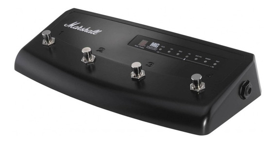 Pedal Para Guitarra Footswitch Mg4 Para Linha Mg Marshall Pedl-90008 Overdrive Delay Reverb Chorus Flanger Phaser Octave