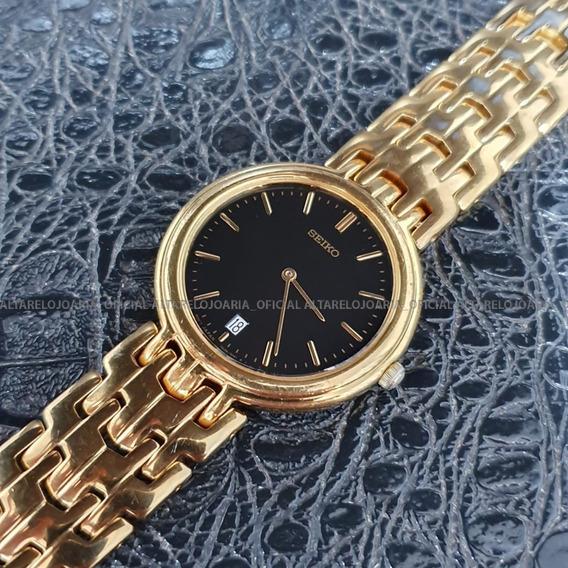 Relógio Seiko Vintage Dourado