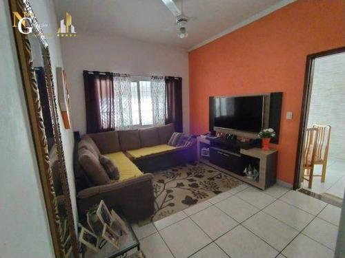 Casa Com 3 Dormitórios À Venda, 141 M² Por R$ 375.000,00 - Tupi - Praia Grande/sp - Ca0379
