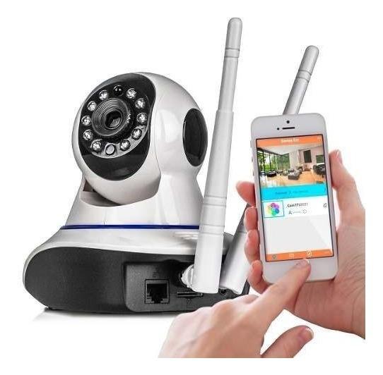 Câmera Robo Ip 1.3mp 720p Hd Wireless Wifi Áudio P2p