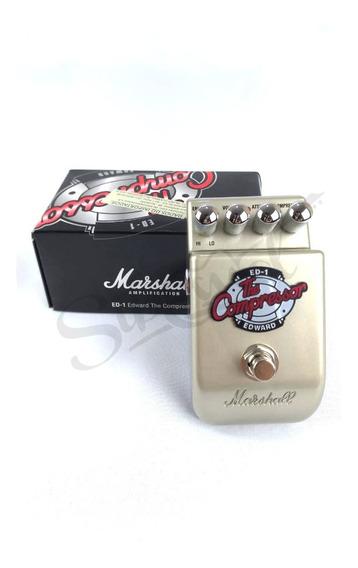 Pedal Guitarra Marshall Ed1 The Edward Compressor / 2 Anos