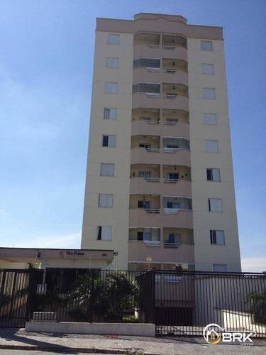 Apartamento Vila Guilhermina, 2 Dormitórios, 1 Vaga, 55 M2 - Ap0125