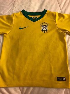 Camisa Da Seleção Brasileira Infantil - Nike