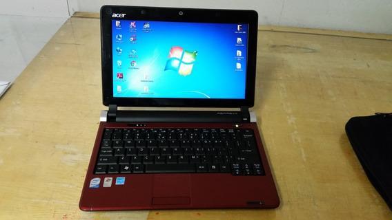 Notebook Acer Aspire One - Cor Vermelho