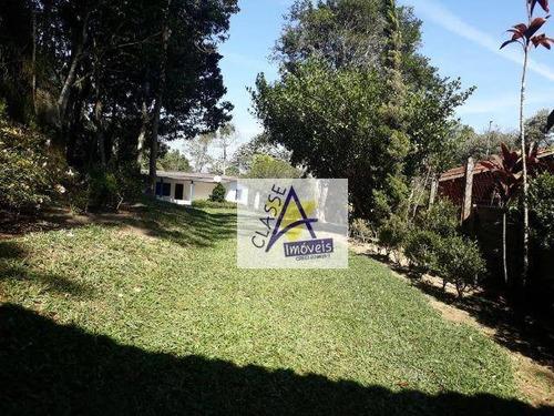 Chácara Com 2 Dormitórios À Venda, 8700 M² Por R$ 349.000,00 - Sítio Itaproa (ouro Fino Paulista - Ribeirão Pires/sp - Ch0012