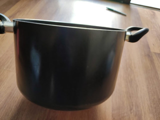 Non Stick Cooking Bowl With Lid