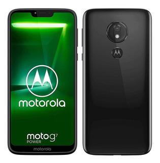 Motorola Moto G7 Power Xt1955 64gb 4gbram Novo Anatel Notaf.