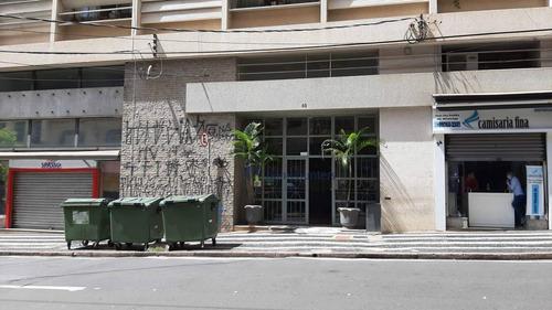 Kitnet Com 1 Dormitório À Venda, 39 M² Por R$ 119.000,00 - Centro - Campinas/sp - Kn0024