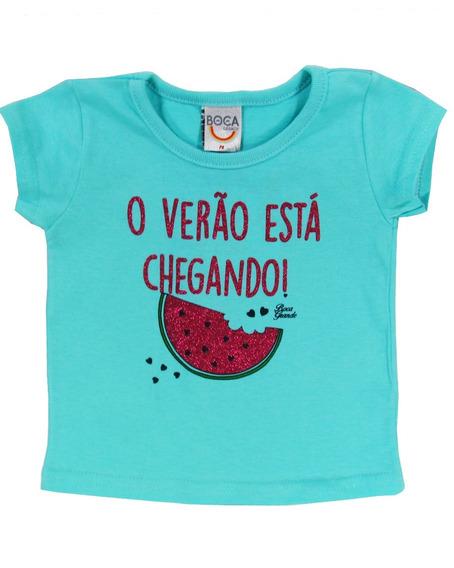 Blusa Bebê Menina Fresquinha Verão - Boca Grande