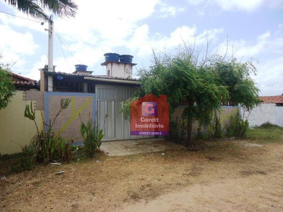 Casa Com 3 Dormitórios À Venda Por R$ 140.000 - Redinha - Extremoz/rn V0742 - Ca0252