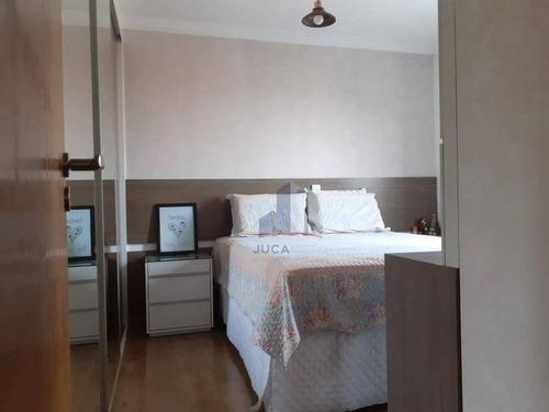Imagem 1 de 14 de Apartamento Com 2 Dormitórios À Venda, 70 M² Por R$ 320.000,00 - Parque São Vicente - Mauá/sp - Ap1139