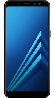 Samsung Galaxy A8 2018 64gb 5.6 Câmera 16mp Preto Seminovo