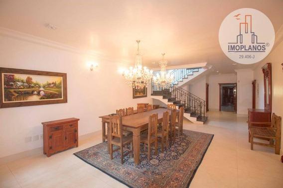 Sobrado Com 4 Dormitórios À Venda, 383 M² Por R$ 1.800.000 - Canto Do Forte - Praia Grande/sp - So0390