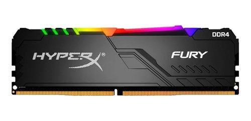 Imagem 1 de 2 de Memória RAM Fury color Preto  8GB 1 HyperX HX430C15FB3A/8
