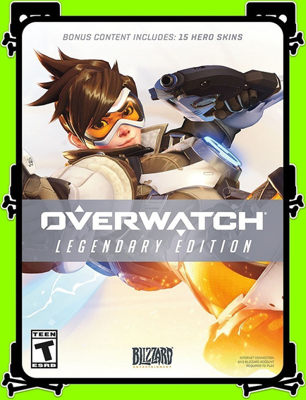 Overwatch Legendary Edition Pc 100% Original (blizzard Key)