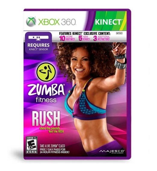 Kinect Zumba Fitness Rush - Midia Fisica - Xbox 360